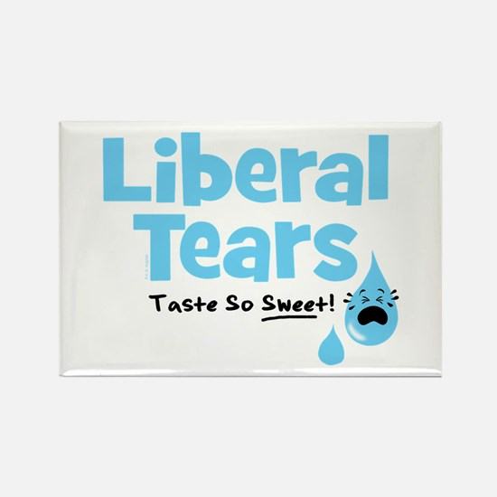 Liberal Tears Rectangle Magnet