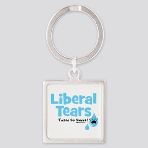 Liberal Tears Square Keychain