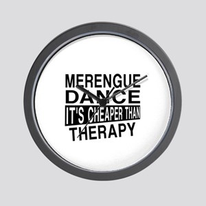Merengue Dance It Is Cheaper Than Thera Wall Clock