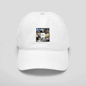 Photo Block with Monogram and Name Baseball Cap