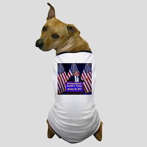 President Trump Inauguration Dog T-Shirt