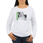 Monogram and Your Photos Here Long Sleeve T-Shirt