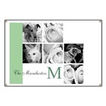 Monogram and Your Photos Here Banner