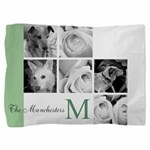 Monogram and Your Photos Here Pillow Sham