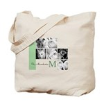 Monogram and Your Photos Here Tote Bag