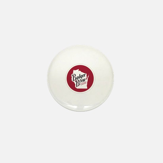 Funny Wisconsin badgers Mini Button