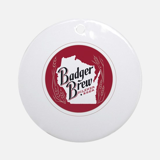 Cute Pilsner Round Ornament