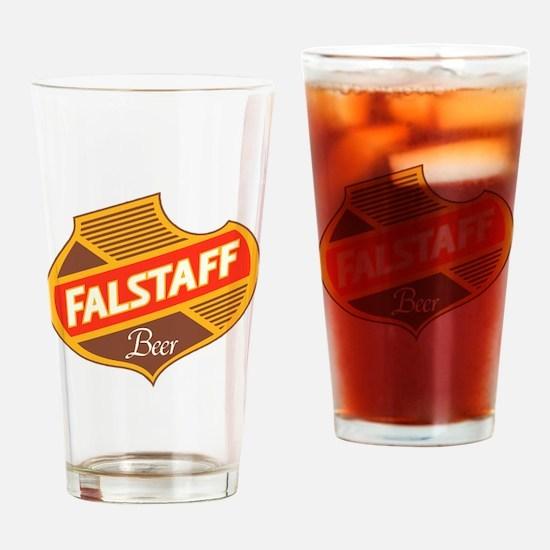 Unique Vintage beer Drinking Glass