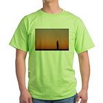 p0083. lone.. Green T-Shirt