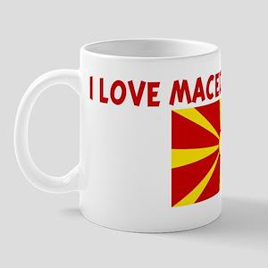 I LOVE MACEDONIAN GIRLS Mug
