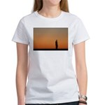 p0083. lone.. Women's T-Shirt