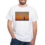 p0083. lone.. White T-Shirt