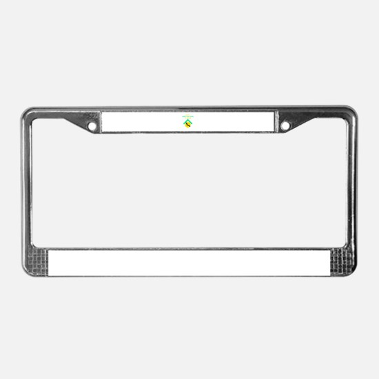 Give a shelter pet a loving ho License Plate Frame