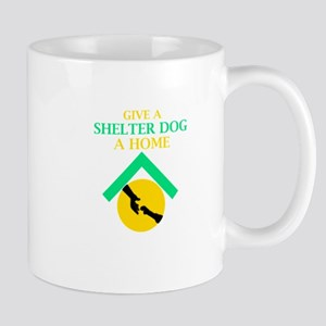 Give a shelter pet a loving home Mugs