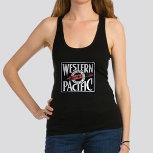Western Pacific Railroad Feather Route 2 Tank Top