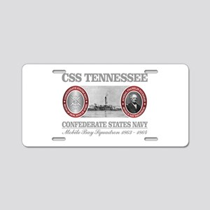 CSS Tennessee Aluminum License Plate