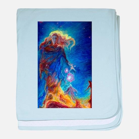 Lady Nebula baby blanket