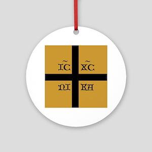 ICXC Jesus Christ Round Ornament