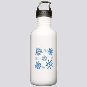 Snowflakes Stainless Water Bottle 1.0L