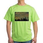 p0147. fur, oregon  Green T-Shirt
