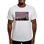 p0147. fur, oregon  Ash Grey T-Shirt