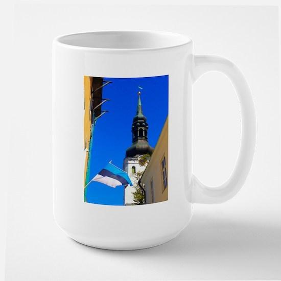 Blue Skies of Estonia Mugs