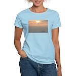 p0129. venice beach Women's Pink T-Shirt