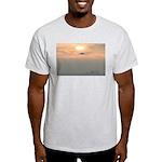 p0129. venice beach Ash Grey T-Shirt