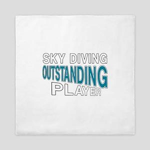 Sky Diving Outstanding Player Queen Duvet