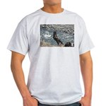 p0159. knight.? Ash Grey T-Shirt