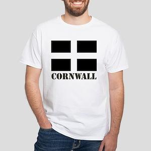 Cornwall Stencil DS White T-Shirt