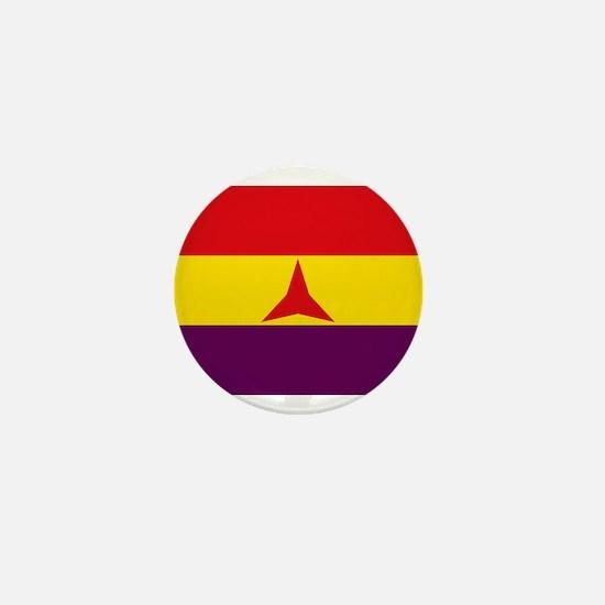 Flag of the International Brigades, Sp Mini Button