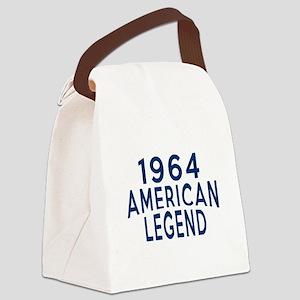 1964 American Legend Birthday Des Canvas Lunch Bag