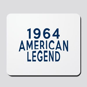 1964 American Legend Birthday Designs Mousepad