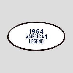 1964 American Legend Birthday Designs Patch