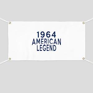1964 American Legend Birthday Designs Banner