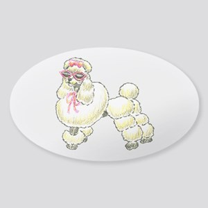 French Poodle Sticker