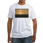p0016. oceanzedge Fitted T-Shirt