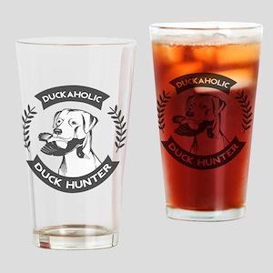 duckaholic Drinking Glass