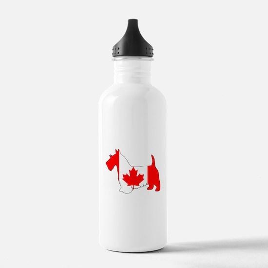"Scottish Terrier ""Cana Water Bottle"