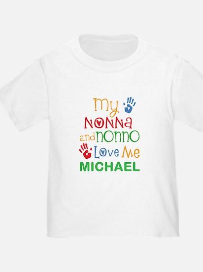 Nonna And Nonno Love My Personalized T-Shirt