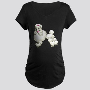 Toy Poodle Maternity T-Shirt