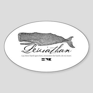 Leviathan Vintage Whale Sticker