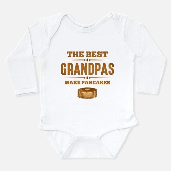 Best Grandpas Make Pan Long Sleeve Infant Bodysuit