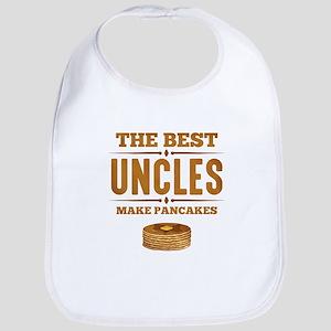 Best Uncles Make Pancakes Bib