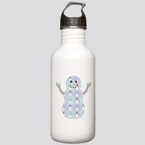 Winter Quilt Stainless Water Bottle 1.0L