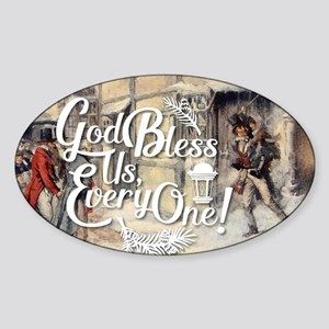 God Bless Us Every One! Sticker