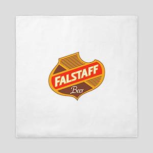 Falstaff beer design Queen Duvet
