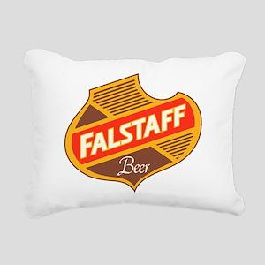 Falstaff beer design Rectangular Canvas Pillow