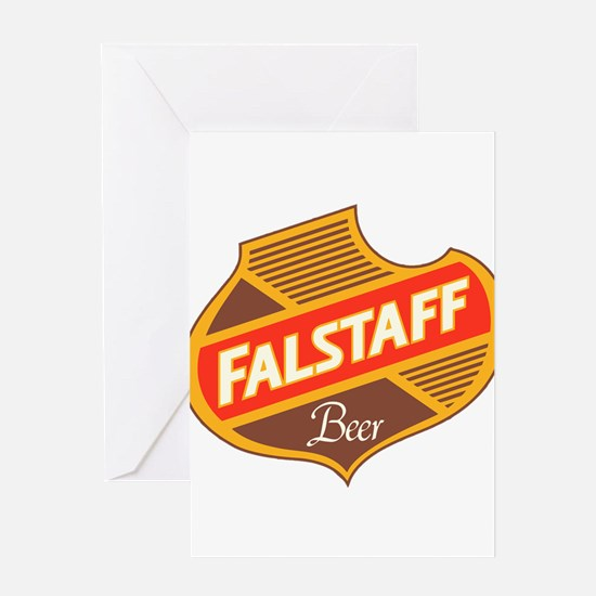 Falstaff beer design Greeting Cards
